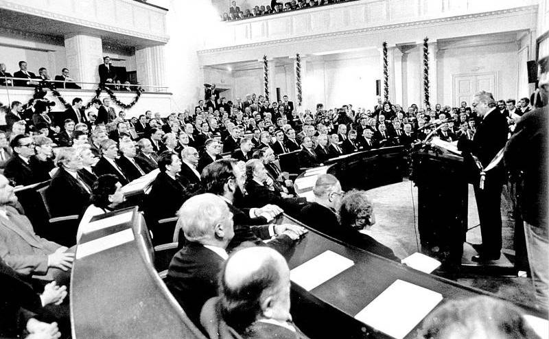 NA DANAŠNJI DAN: 30. svibnja 1990. konstituiran je prvi višestranački Sabor