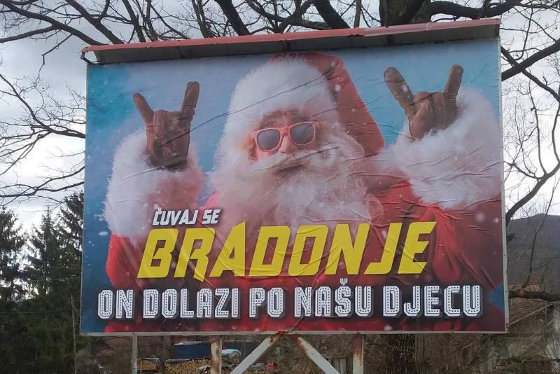 KAMPANJA U BiH: Radikalni islamisti protiv Djeda Mraza i Nove godine