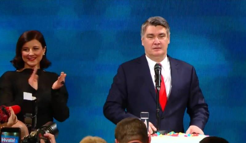 HRVATSKA JE IZABRALA: Zoran Milanović je novi predsjednik!