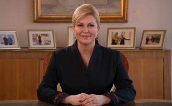"""Zadnje obraćanje predsjednice Grabar-Kitarović: """"Ponosna sam na učinjeno, o mom radu govorit će povijest"""""""