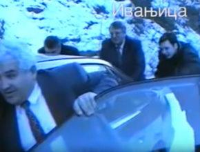 VIDEO ZA ANTOLOGIJU: Šešelj i njegov potrčko Vučić guraju auto po snijegu