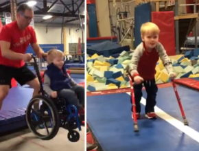 Četverogodišnji dječak ustao iz invalidskih kolica